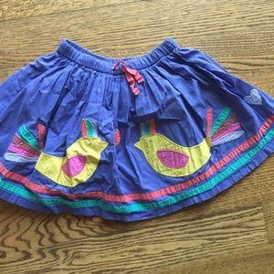 Mini Boden Appliqué Skirt
